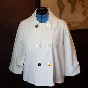White Double Breasted Blazer Jacket (pt1)